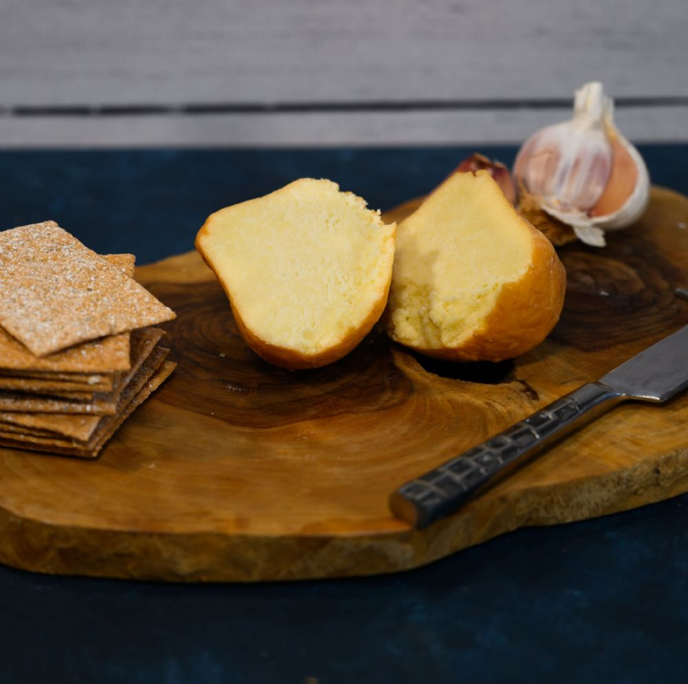 Leagram's Oak Smoked Garlic Bulb Cheese